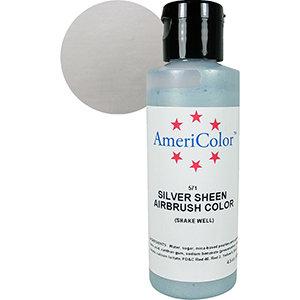 Americolor Silver Sheen Air Brush Color 9 oz
