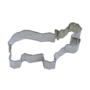 Cookie Cutter: Hippo 4.5""