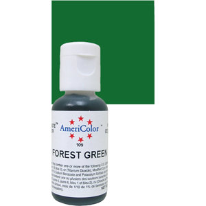 Americolor Gel Forest Green 0.75 oz