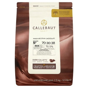 70-30-38 Dark Couverture Chocolate 2.5KG