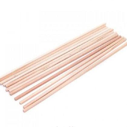 Wooden Dowel Rods, 20cm