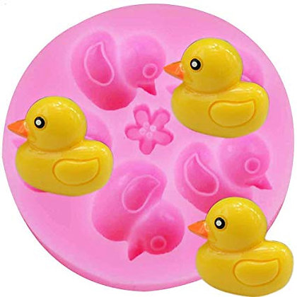 Rubber Duckie Silicone Mold 6 cavity