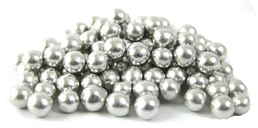 4mm Silver Dragees 80g