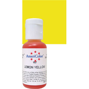 Americolor Gel Lemon Yellow 0.75 oz