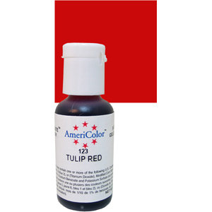Americolor Gel Tulip Red 0.75 oz