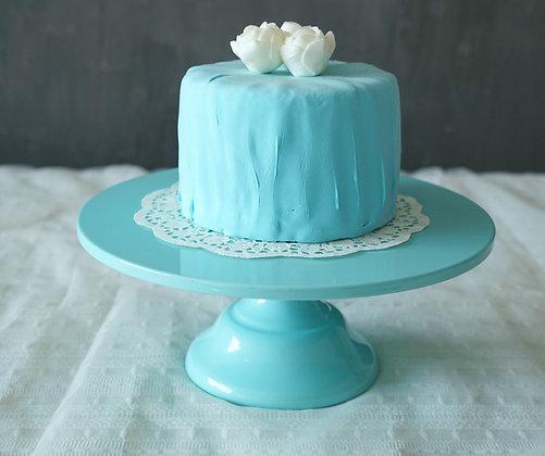 Cake Stand, Blue 30 cm