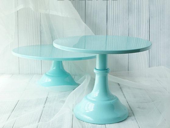 Cake Stand, Blue 25 cm