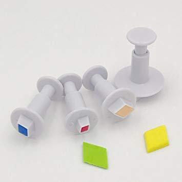 Diamond Plunger Cutter Set of 4