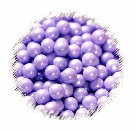7mm Purple Pearlised Sugar Beads 80g