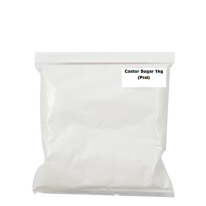 Castor Sugar 1KG (Prai)