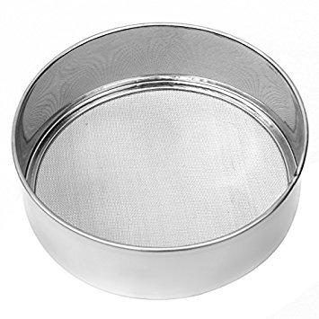 Stainless Steel Sieve, 27 cm