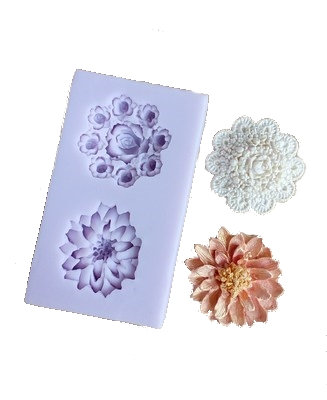 Floral/Brooch Silicone Mold