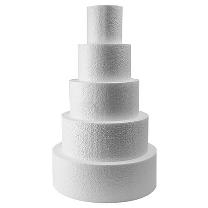 Cake Dummies, Round 9 x 5 (H) inch