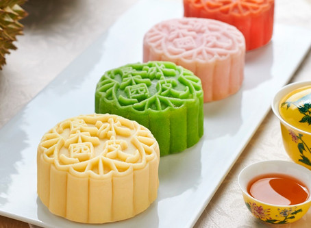 Easy Snowskin Mooncakes
