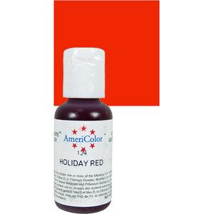 Americolor Gel Holiday Red 0.75 oz