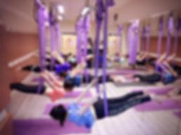空中瑜伽/壁繩瑜伽/低空療癒瑜伽 試堂