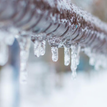 Is property damage from frozen water lines covered?