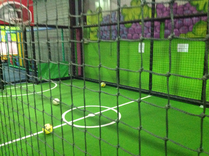 netted sports zone