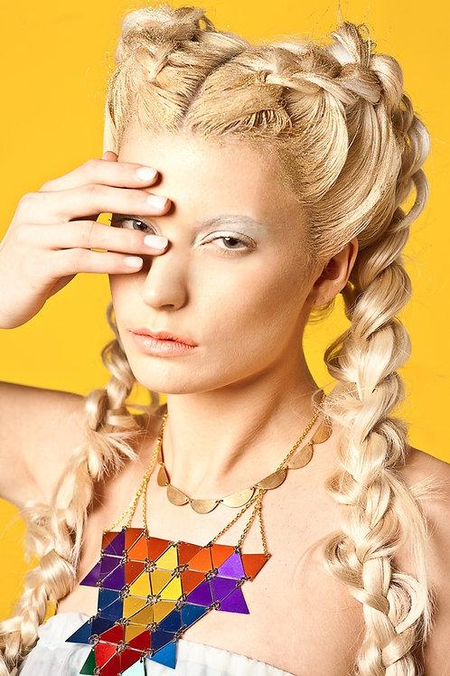 Rainbow Warrior Necklace