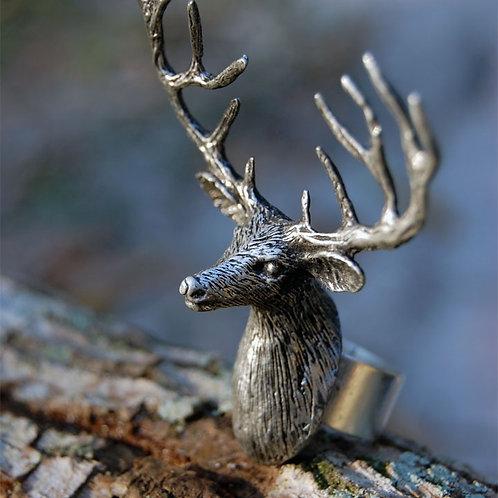 Deer, Doe, Bear or Moose Ring