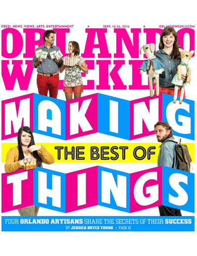 Meet your Makers Orlando Weekly Cover Story