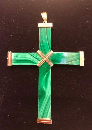 Malachite Cross