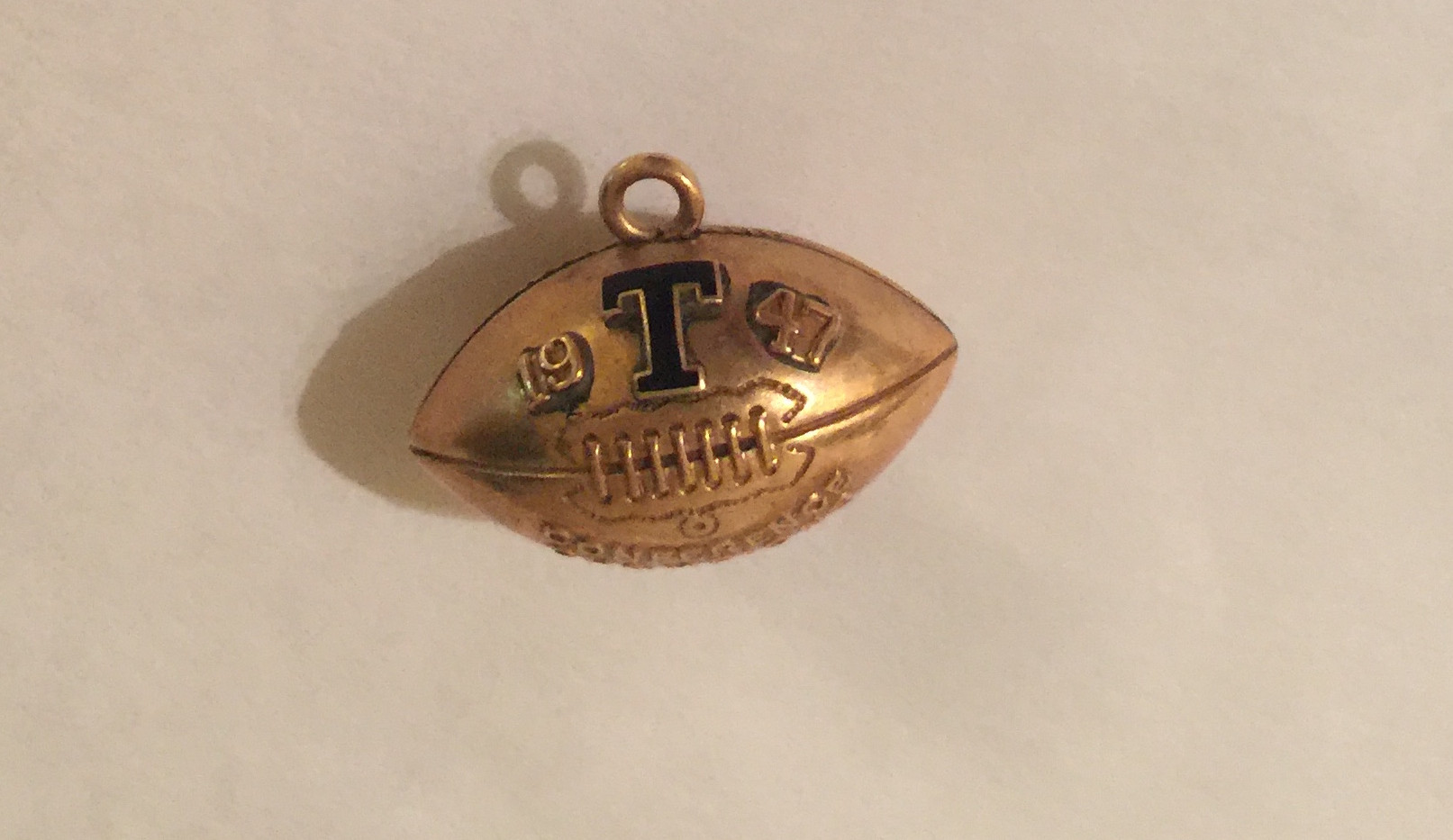 1947 Conference Champions 10Kt Charm.jpg