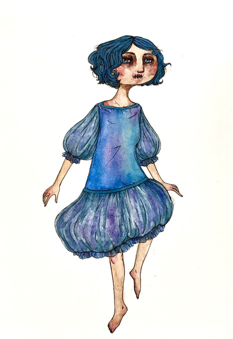 The Blue Fairy (without wings)