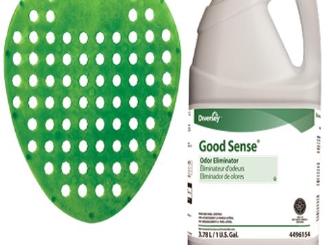 URINAL SCREEN 12 NOS + 1 CAN GOOD PERFUME SPRAYER  (COMBO PACK)