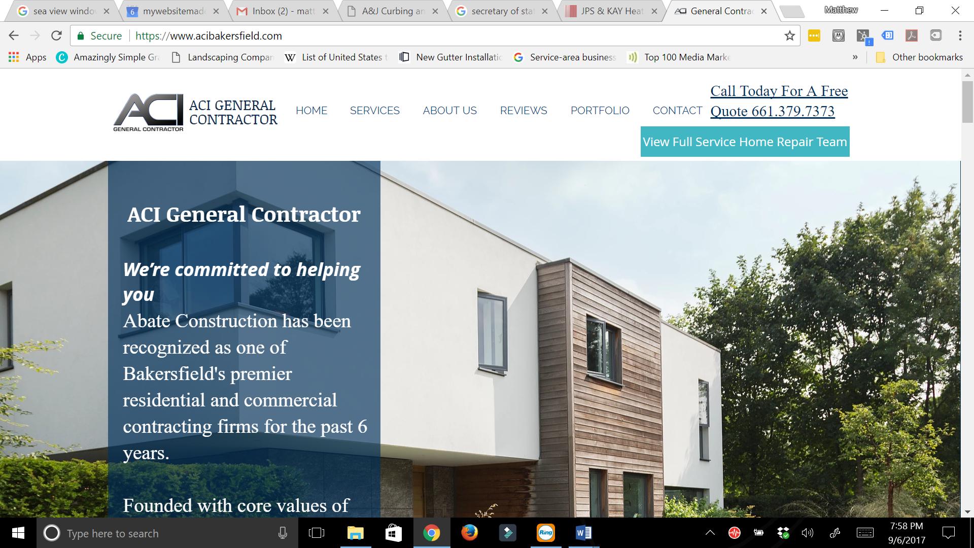 ACI General contractor
