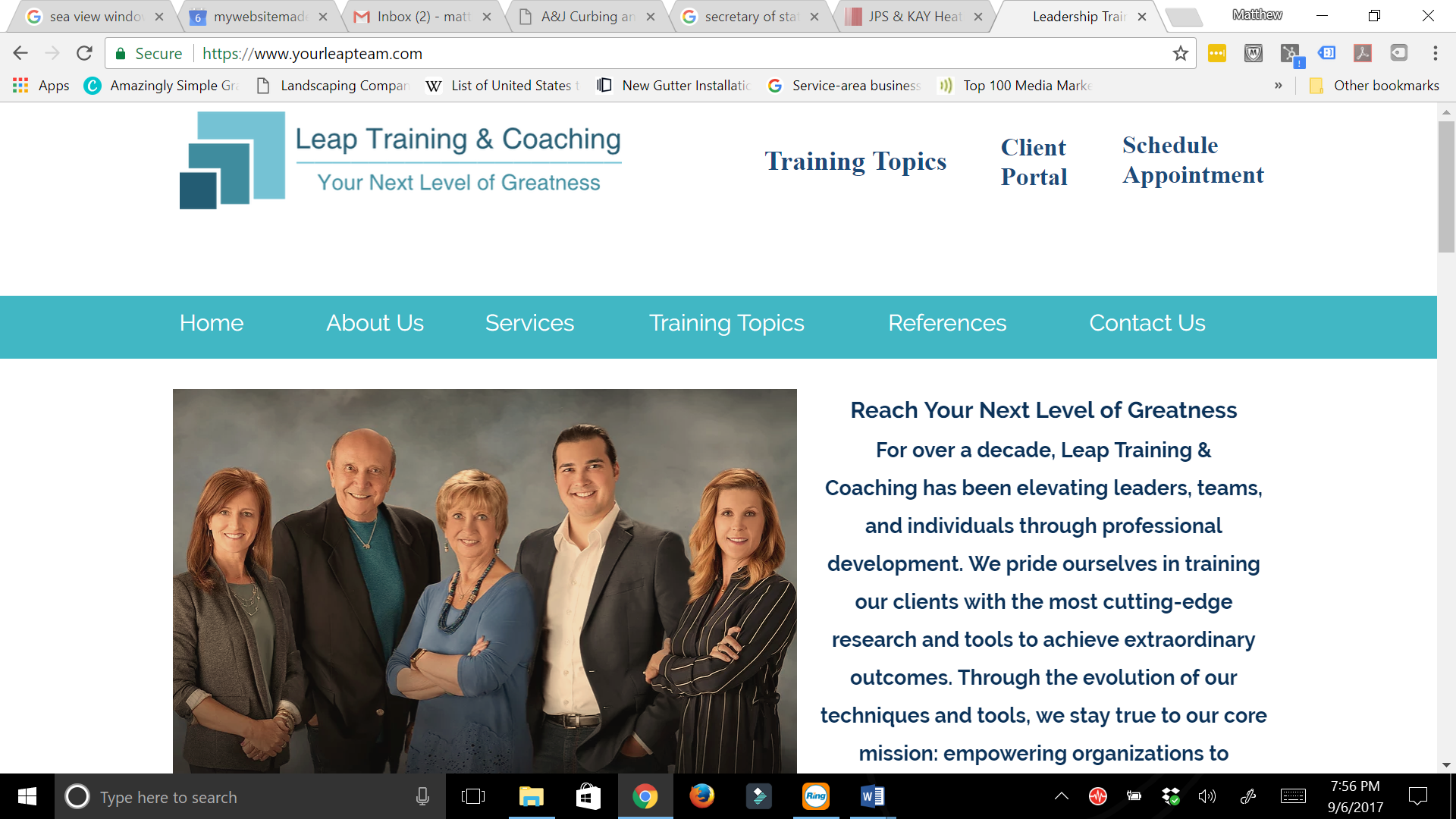 Leap training & coaching
