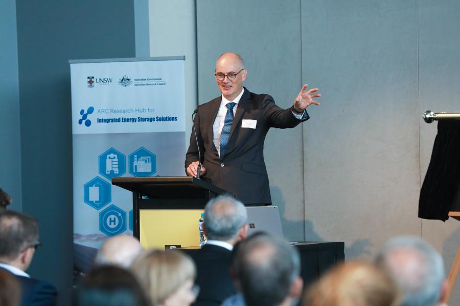 Mr Titchen, Goldwind Australia industry partner