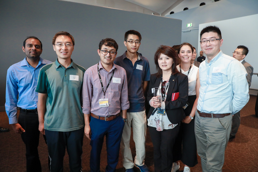 Hub researchers, partners and supporters at the launch