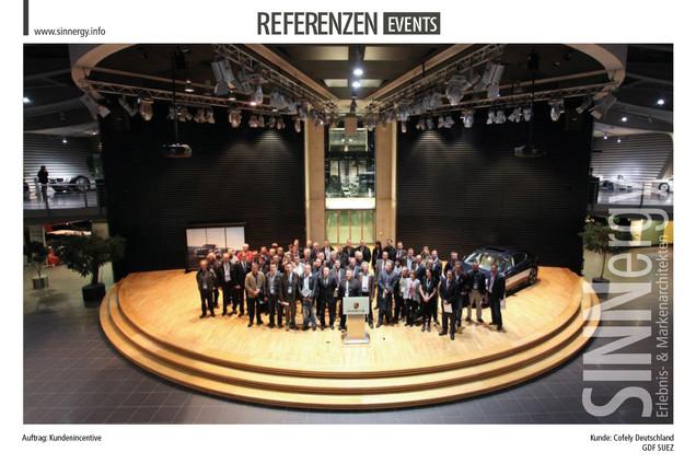 Referenzen Events