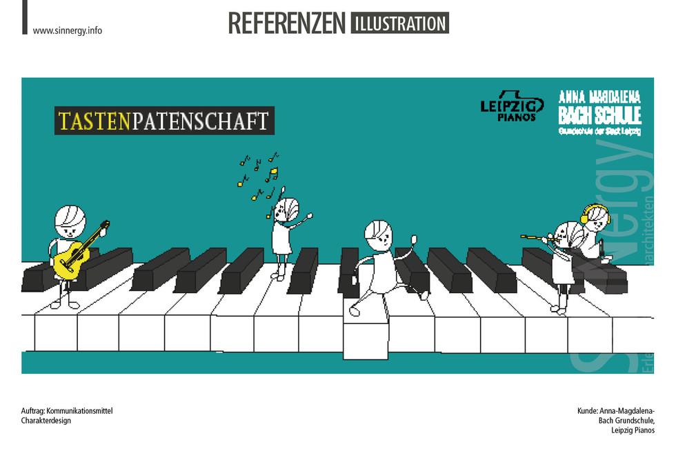 Referenzen Illustration