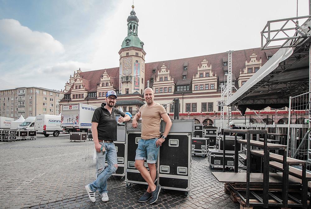 Aufbau Classic Open Leipzig 2017