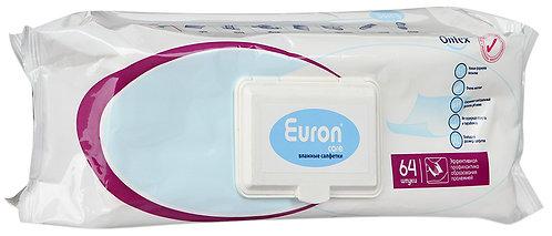 Салфетки влажные Ontex Euron Care 64 шт.