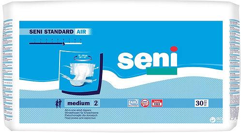 Подгузники для взрослых SENI Standard Air Medium (2) 30 шт. (75-110 см.)