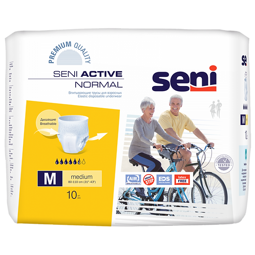 Подгузники-трусы SENI Active Normal Medium 10 шт.