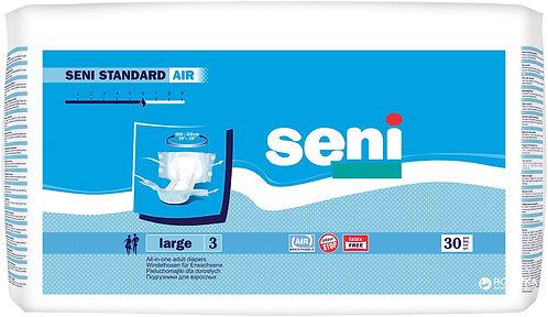 Подгузники для взрослых SENI Standard Air Large (3) 30 шт. (100-150 см.)