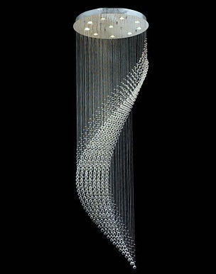 Fishtail Crystal Chandelier (0019)