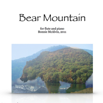 Bear Mountain, for flute and piano $24.99