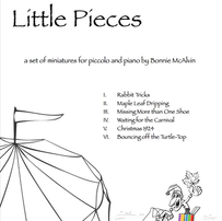 Little Pieces, for piccolo and piano $24.99