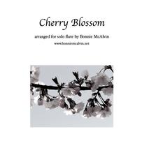 Cherry Blossom, for solo flute $14.99