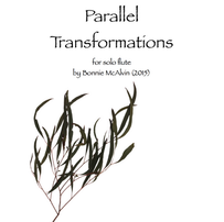 Parallel Transformations, for solo flute $14.99