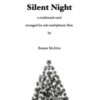 Silent Night, for solo flute $11.99