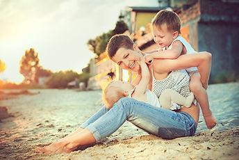 Mother and her children having fun.jpg