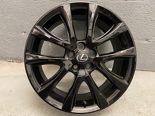 Genuine Lexus CT200h Zenga Alloy Wheel Gloss Black PZ49P-Z0671 Ref:148