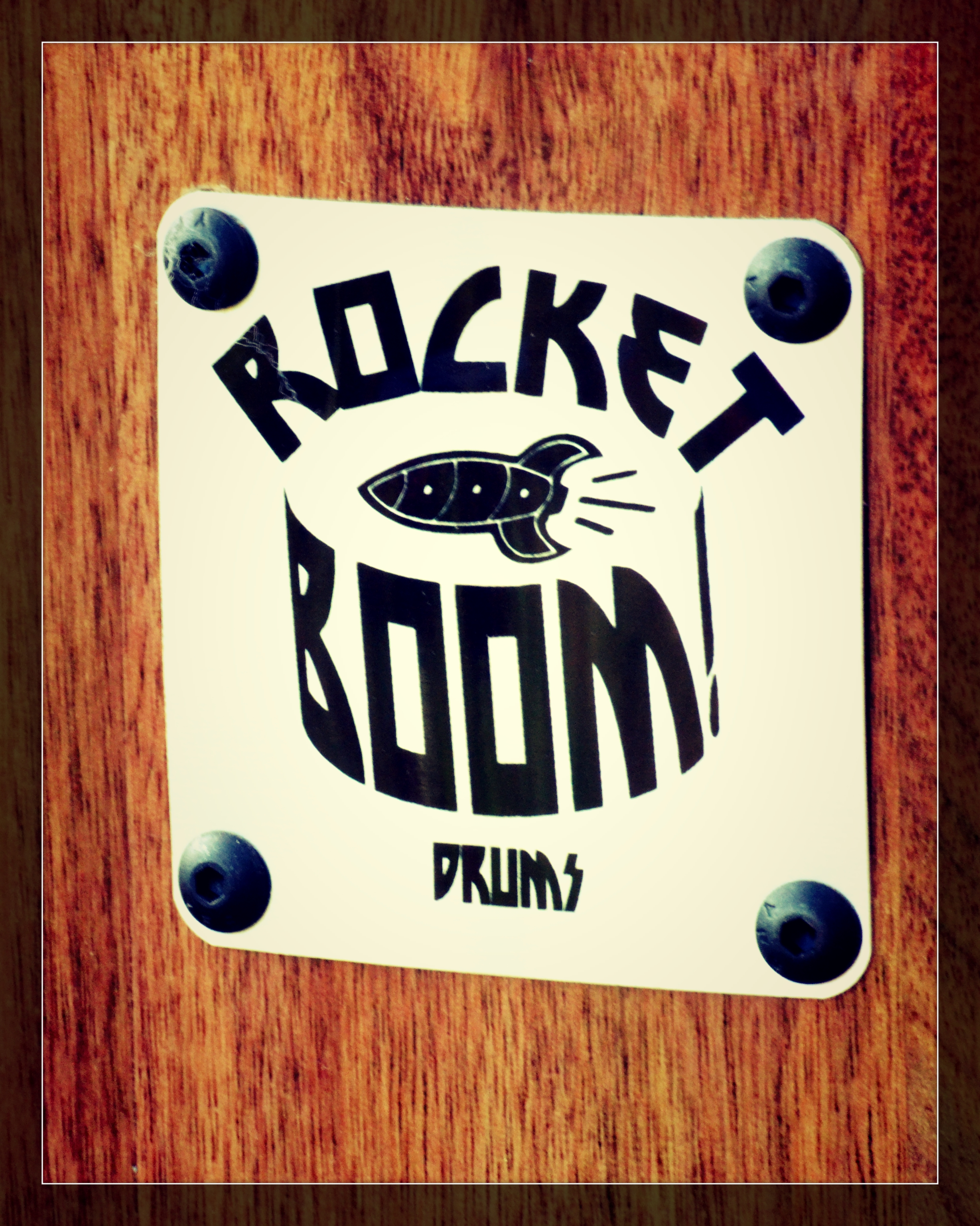 Rocket Boom Badge
