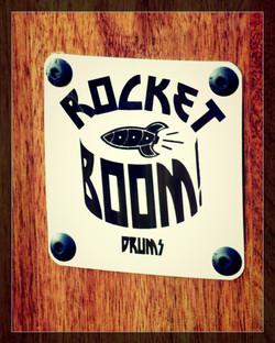 Rocket Boom Badge